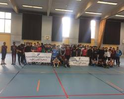 Centre socioculturel du Langensand – HAGUENAU - Galerie - Vainqueur de la 2ème édition du tournoi de Futsal Solidaire organisé par le CSC Camille Claus