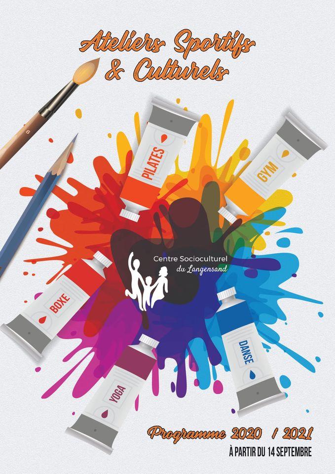Ateliers Sportifs & Culturels - Programme 2020 / 2021