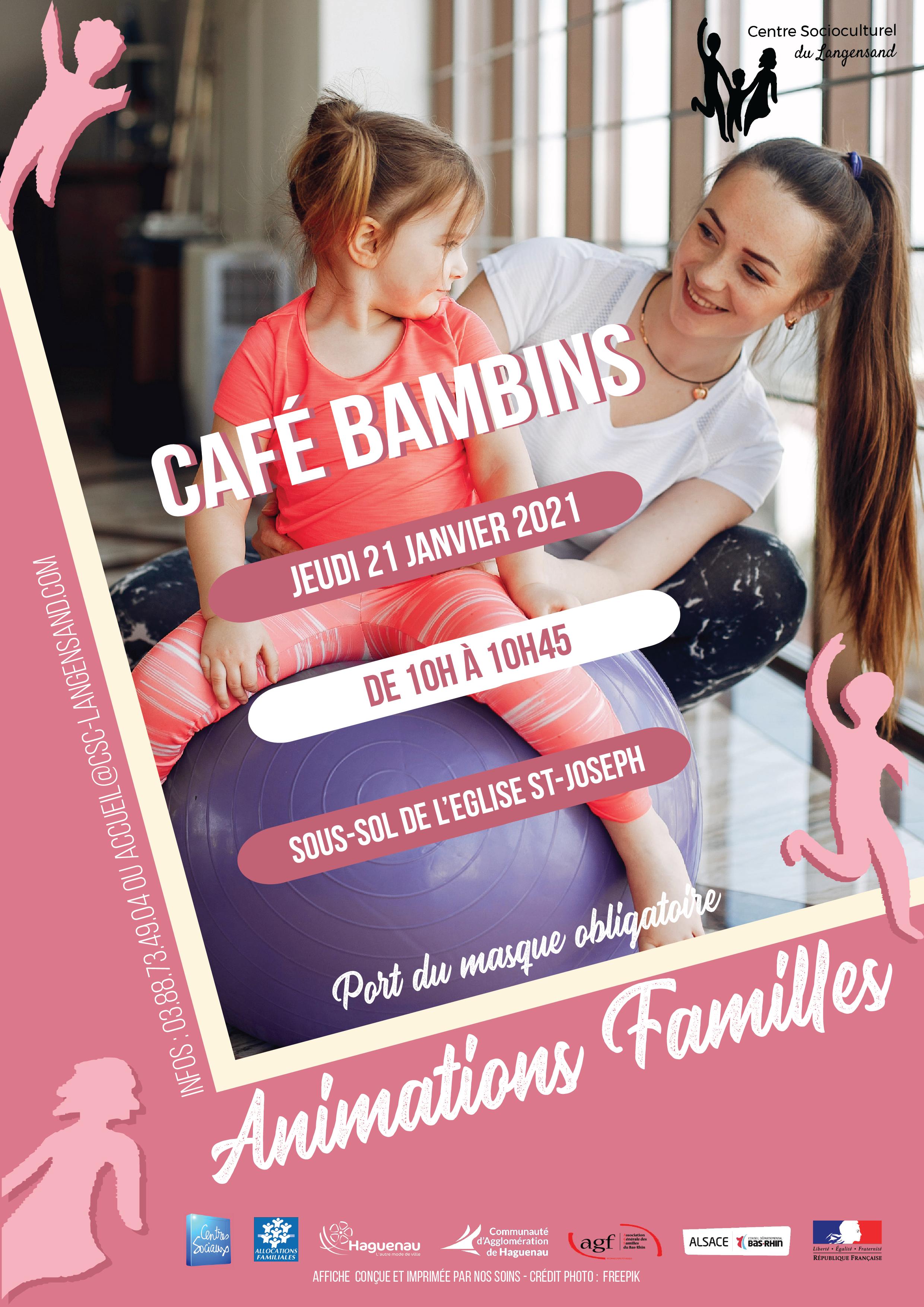Reprise du café bambins