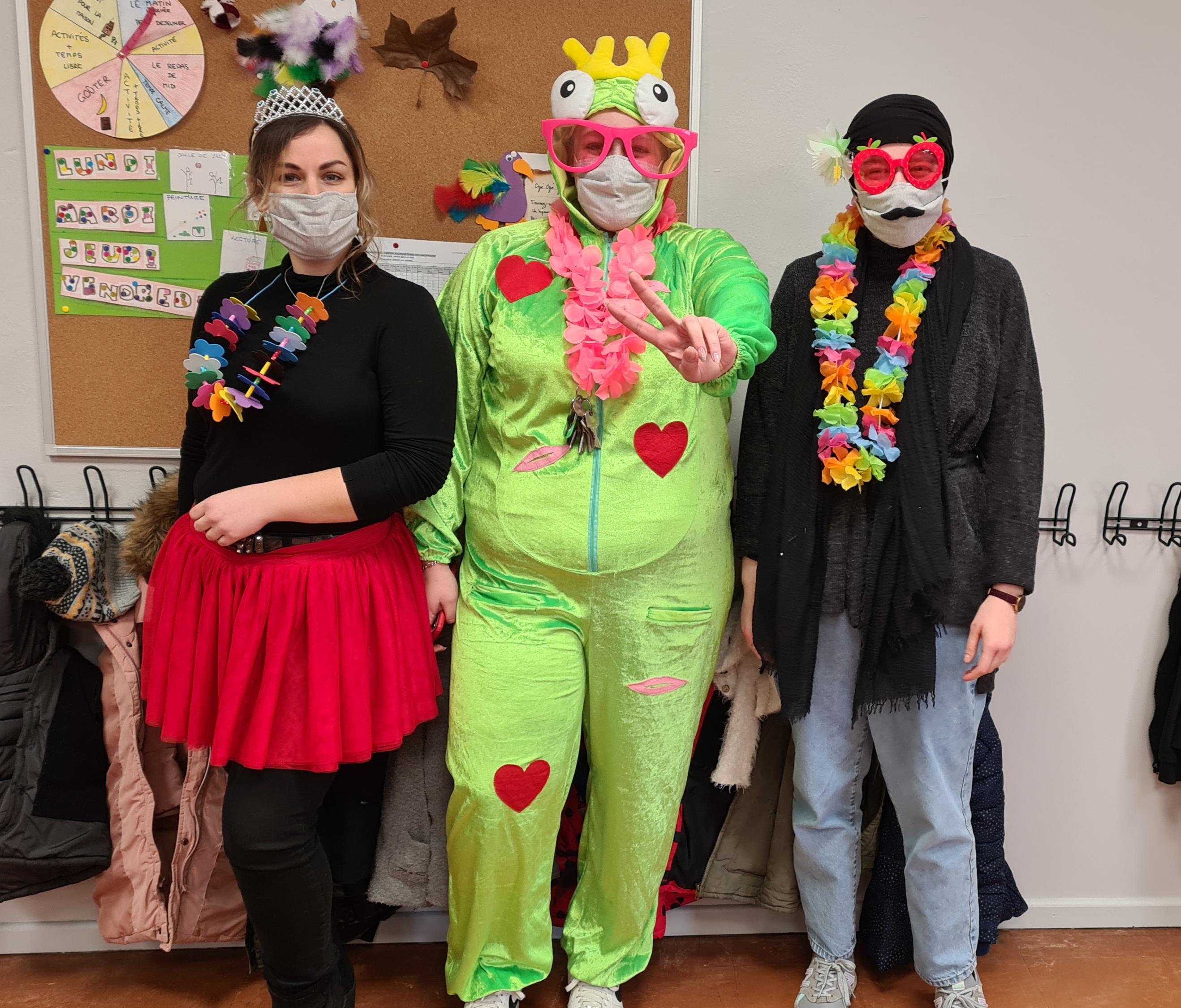 Un carnaval au CSC du Langensand...