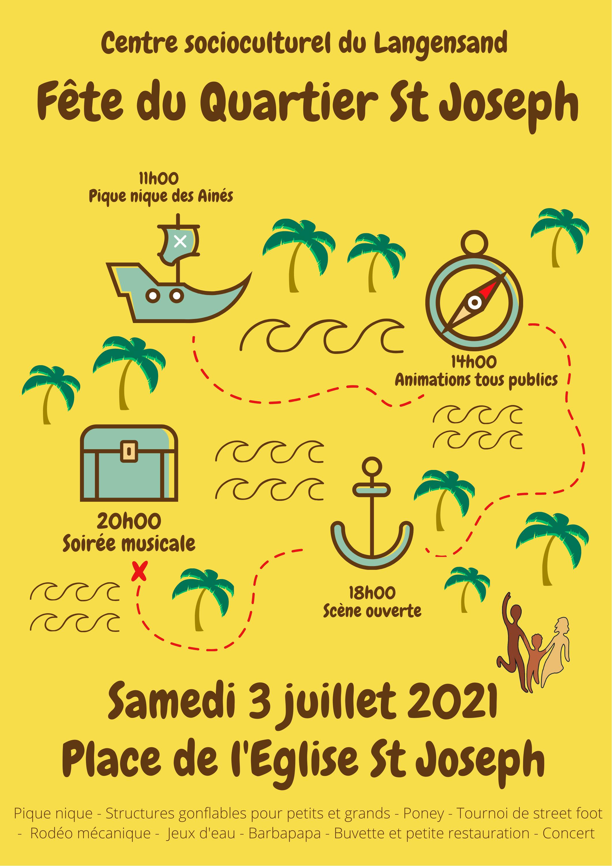 Fête du Quartier St-Joseph 2021