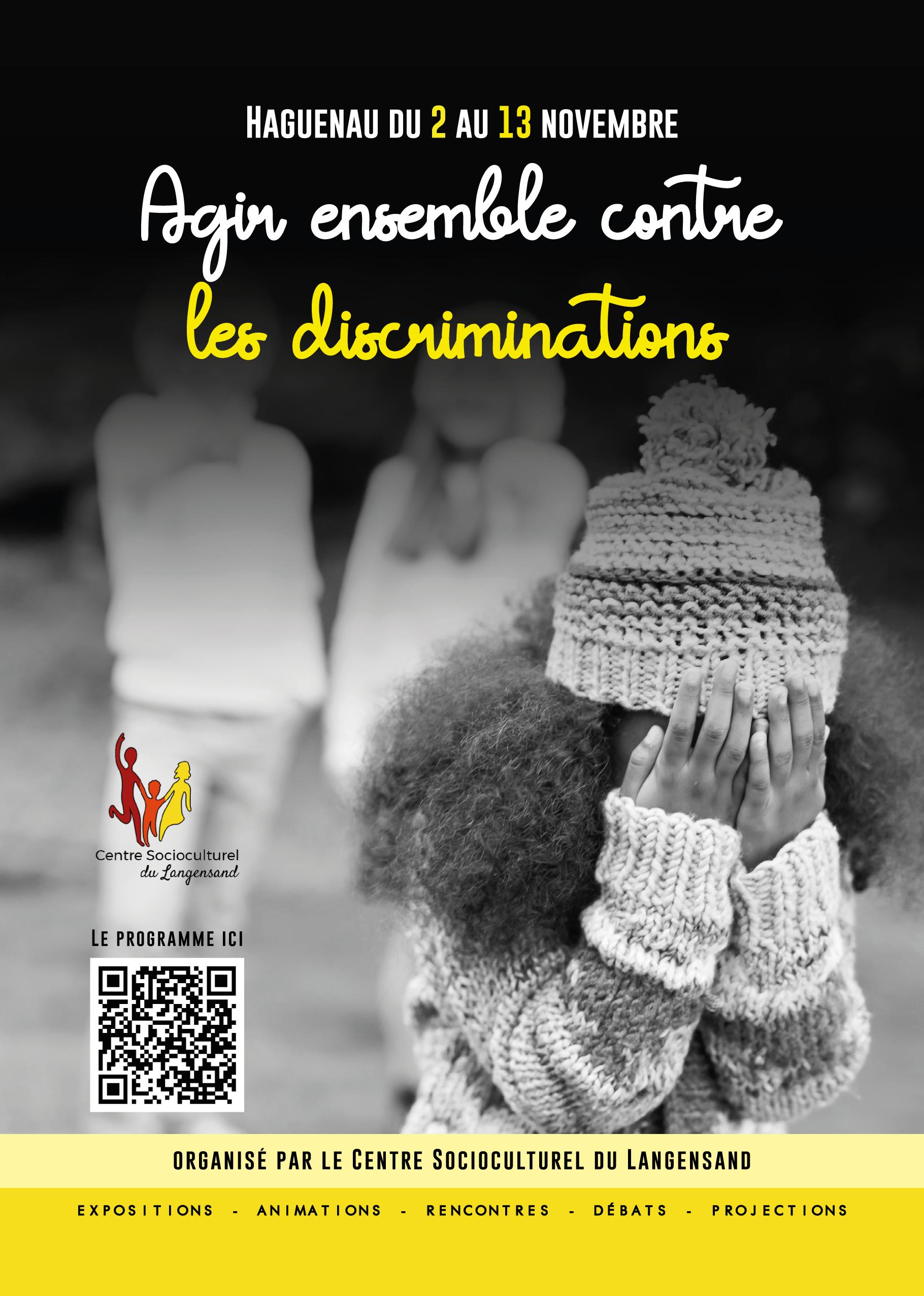 Agir ensemble contre les discriminations - programme
